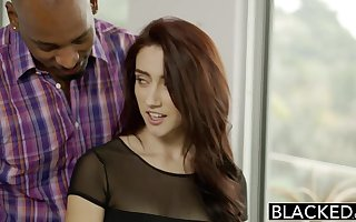 BLACKED Cheating GF Mandy Muse has anal sex with BBC