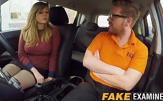 Curvy UK skank Madison Stuart banged at arriere pens�e = 'hidden motive' school car
