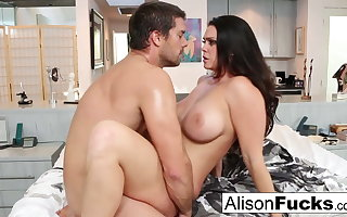 Amazing ballpark fuck with Alison Tyler and a hung spanish stud