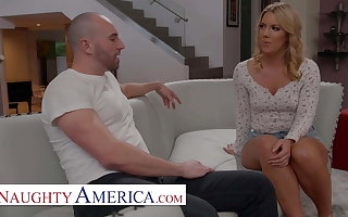 Naughty America - Candice Dare gets a Shacking up good deal