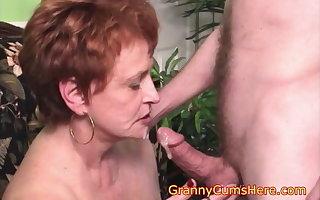 Opprobrious Cum Sucking Granny