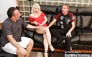 Big Titty Russian Blonde Bimbo Creampie Eaten