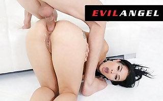 Katrina Jade's Tight Ass Slammed Alongside Leather - EvilAngel