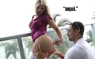 CULIONEROS - Larger than life PAWG Alexis Texas Brings Her Obese Pest Over To Chicas De Porno