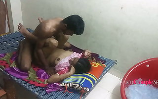 Real Circumscribe Married Telugu Couple Fucking