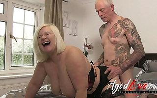 AgedLovE British Mature Lacy Starr Rough Fuck