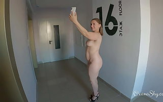 Public dare. Truly nude selfies back cum on my face