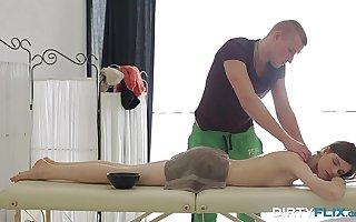 Dirty Flix - Anal on massage Anna Taylor teen porn