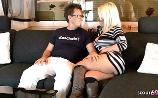 German Mature On Private Sex Nomination with Pornstar Conny Dachs