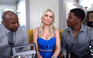 Chunky Ass, Kenzie Taylor Wants Anal With Chunky Inky Cocks