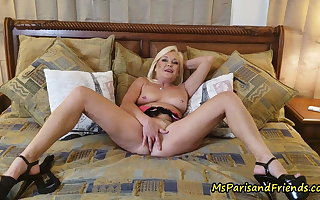 The Fatigued be useful to Paris JOI on every side Ms Paris Rose