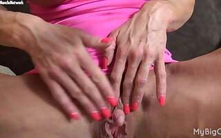Ashlee Chambers - Her Favorite Muscle? Her Big Clit.
