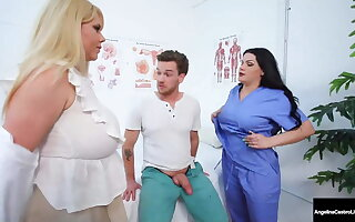 Moist Medical Muffs – Angelina Castro & Karen Fisher Cure Cock