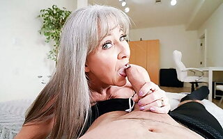 Hot Granny Leilani Lei Rewards Stud Be fitting of Hard Work