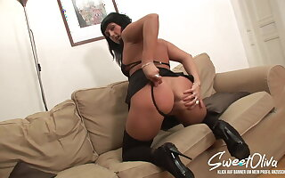 MILF goes for her first BBC ANAL CREAMPIE