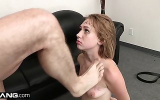 Profitability Hurl - Teen Amateur Iggy Amore Gets Covered in Cum