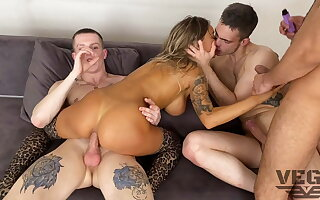 EIGHT HOT GUYS FUCKED HARD AND PISSED Retire from MONICA Abaddon 7