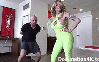 Worshiping Mistress Daisy Ducati's boots!