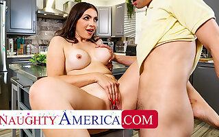 Naughty America - Sexy Milf Valentina Bellucci loves cock