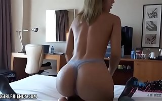 Latina with PERFECT ass fucked in Spain (Demi Lopez) POV Clumsy