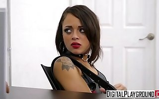 Closed teen Holly Hendrix gets punished by cop - DigitalPlayground