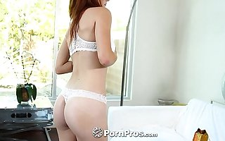 PornPros - Sexy Alice Green gets her ass ready nigh toys