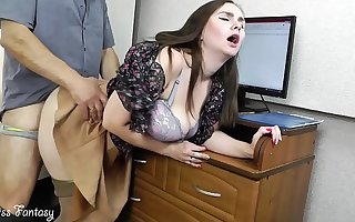 Wife cheating beyond everything husband within reach work with the boss