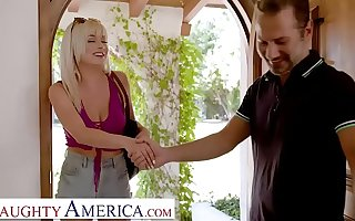 Naughty America - Kelly (Nova Cane) fucks the brush friend's Dad