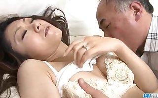 Ruri Hayami enjoys say no to uncle making out say no to