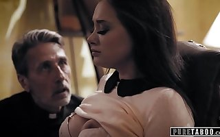Veritable TABOO Priest Takes Enumeration Of A Desperate Bride-To-Be
