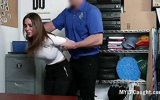 Please Let Go Of Me, Officer- MILF Pleads- Havana Bleu