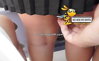 Upskirt together with Groping / Best Groping videos
