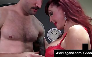 Older Lady Sexy Vanessa Gets Big Cock Banged By Alex Legend!
