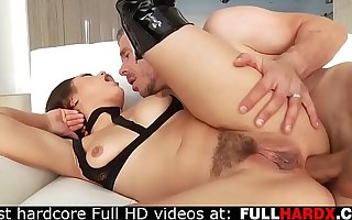 Scremaing painal with Asian blistering battle-axe (Mick Blue , Kendra Spade)