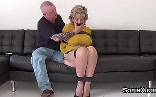 Unfaithful english milf lady sonia reveals her large confidential
