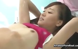 Fucked Innocent Asian Japanese Girl Massage Snifter Arena