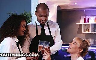 Moms Bang Teens - (Dana DeArmond, Scarlit Scandal) - Table For Several - Reality Kings