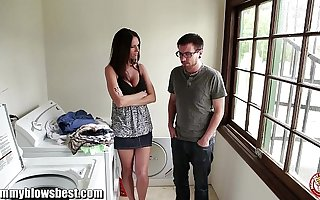 Jennifer Dark is offering a BJ be fitting of a young boy to leave her alone!
