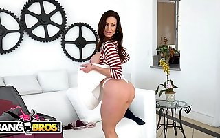 BANGBROS - Struggling against odds The Scenes With Big Tits MILF Pornstar Kendra Lust!